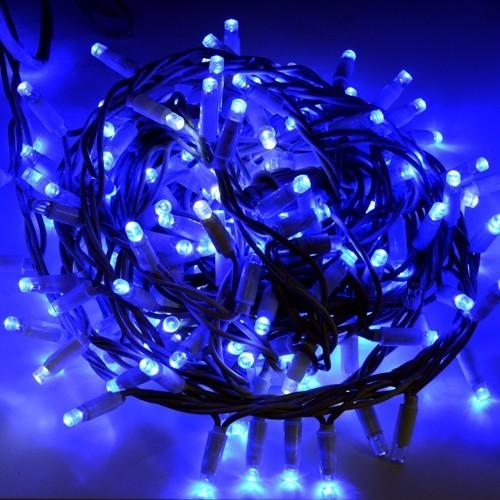 Catena Natalizia Blu
