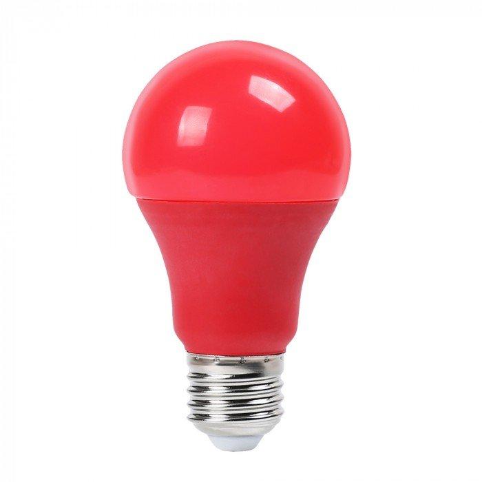 lampadina colore rosso