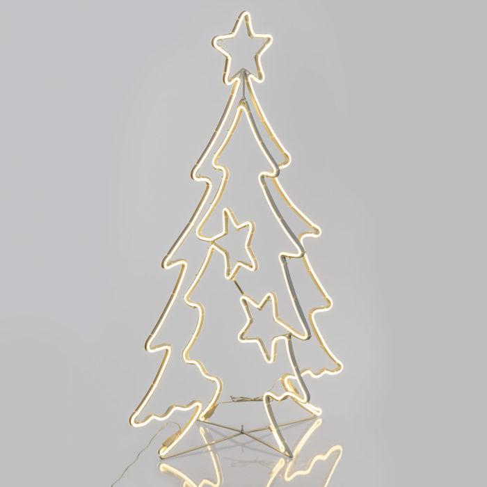 Albero Natale Neon 3D