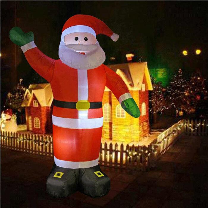 Babbo Natale Gigante Gonfiabile